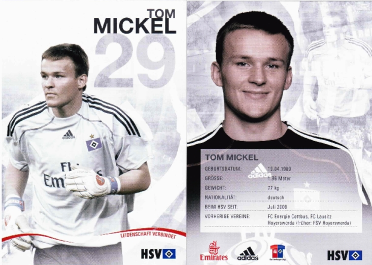 Tom Mickel - Hamburger SV & German U20