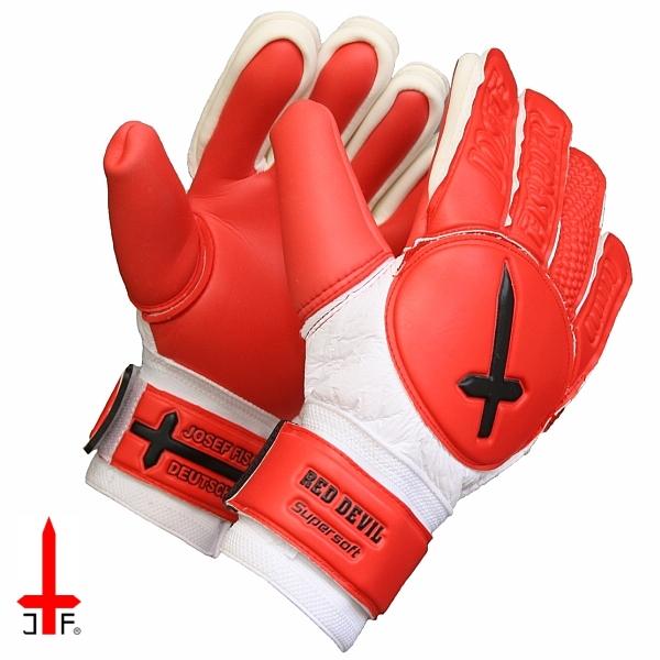 Brankářské rukavice RED DEVIL  c5fb6eb38e